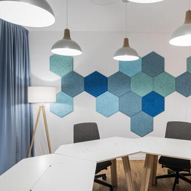Factory Berlin - Innenansicht Meetingraum im skandinavischen Stil