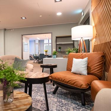Lipsia Meeting Bereich mit Sofa und Sessel